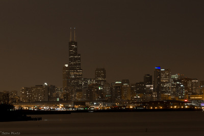 Sean Pinto photoGRAPHY - Chicago skyline from the Lakeshore Drive