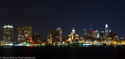 Sean Pinto photoGRAPHY - Philadelphia city Skyline from the Camden Waterfront