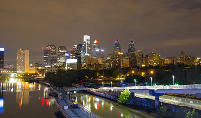 Sean Pinto photoGRAPHY - Philadelphia city skyline from the South St. Bridge