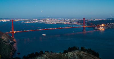 Sean Pinto photoGRAPHY - Golden Gate Bridge from Hawk Hill