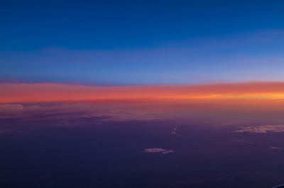 Sean Pinto photoGRAPHY - Sunset from the air, flight to Atlanta from Denver