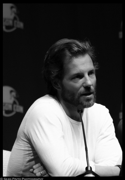 Sean Pinto photoGRAPHY - Jamie Bamber at the BG panel