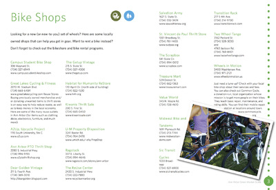 The Other Side of Perfect - InDesign Pamphlet, Green Market Guide 2014