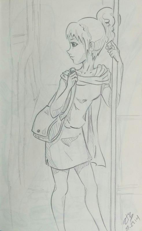 Rachael Birky - sketch