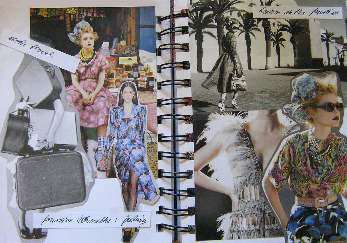 fashion designer & illustrator - sketchbook Spring/Summer 2010