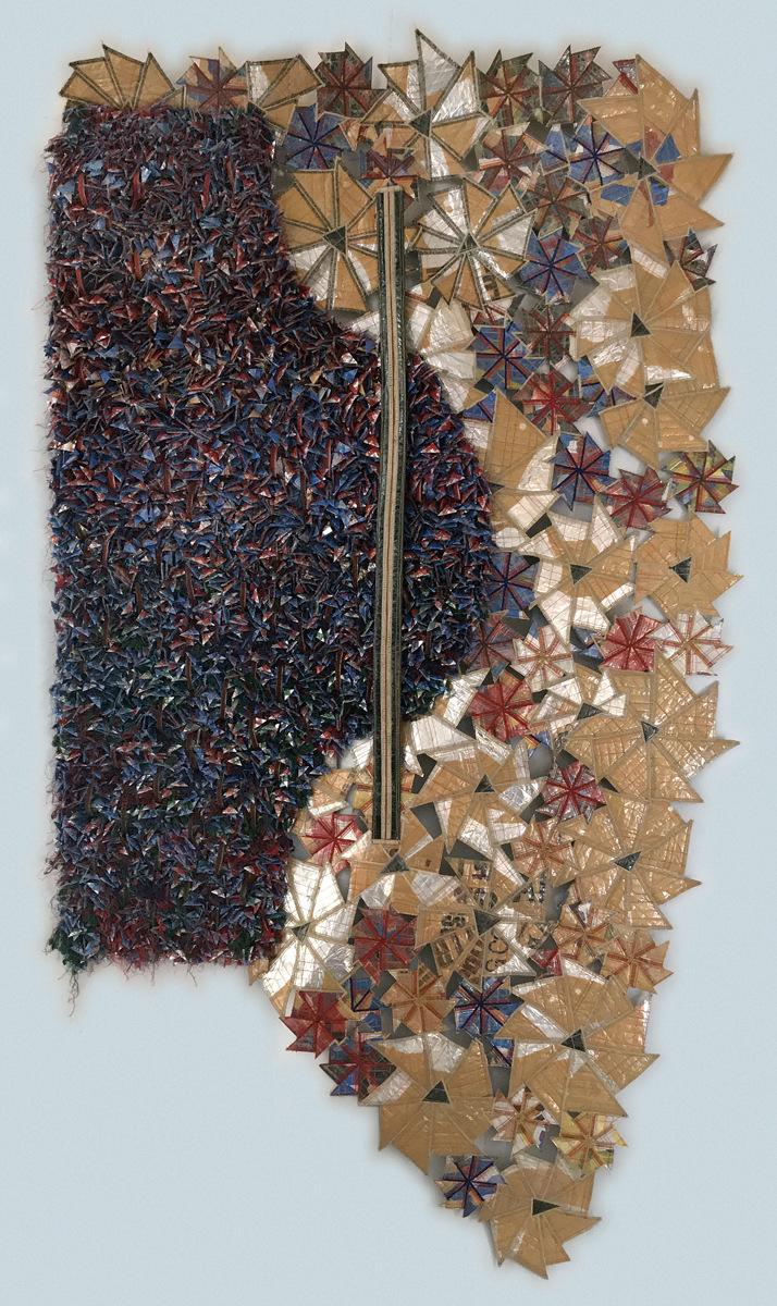 Erik Jon Olson - rien ne se perd, rien ne se crée, tout se transforme 2016 78 x 44 On view July 22 - August 30 at Maple Grove Arts Center, Maple Grove MN