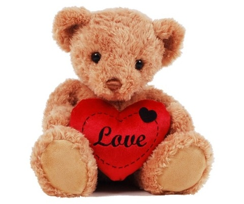 FlowersDeliveryUK - Theodore Love Teddy Bear