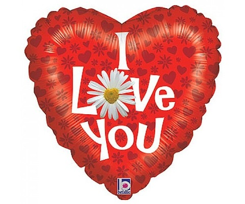 FlowersDeliveryUK - I Love You - 4 Balloons