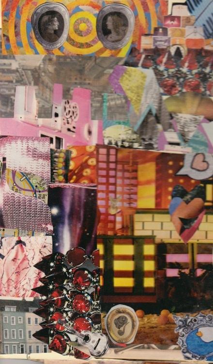collage deluge - Locked Closet, 2010