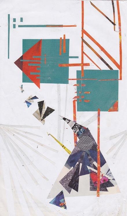 collage deluge - Chain and Crane. 2013