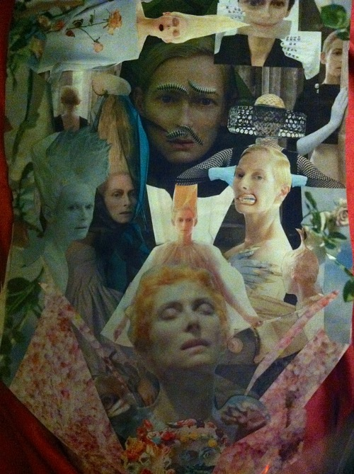 collage deluge - Tilda Smittened, 2013