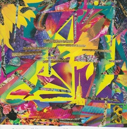 collage deluge - Ogle Bliss Obelisk. 2013