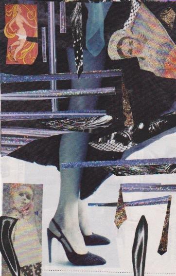 collage deluge - Madame Under-Cheek, 2014