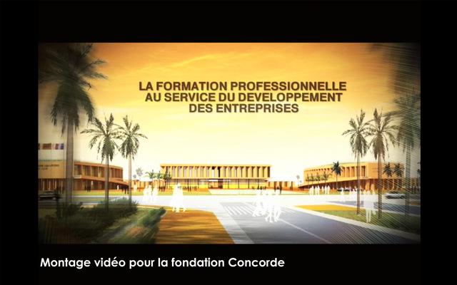 Portfolio Aymeric Thach - Montage vidéo pour la fondation Concorde