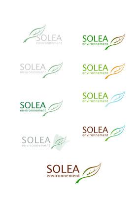 Portfolio Aymeric Thach - Création dun logo pour Solea Environnement