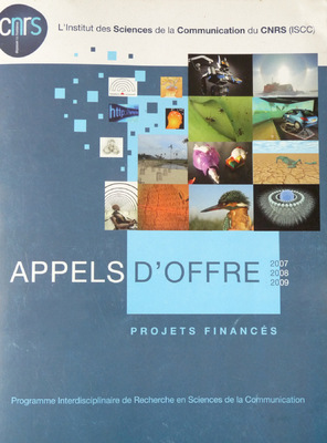 Portfolio Aymeric Thach - Catalogue des appels doffre de lISCC