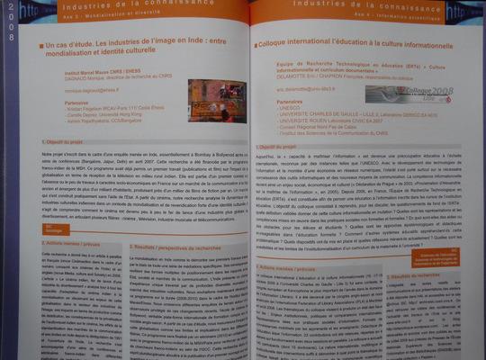Portfolio Aymeric Thach - Intérieur du catalogue des appels doffre