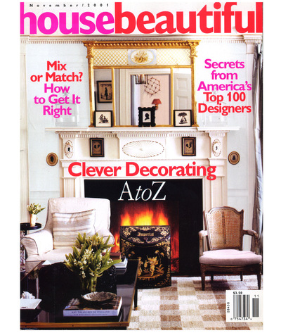 Tori Golub Interior Design - House Beautiful November 2001