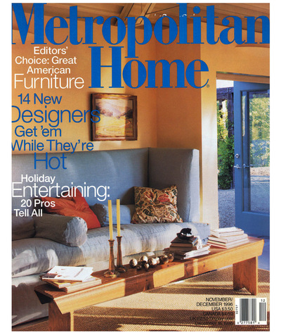 Tori Golub Interior Design - Metropolitan Home Nov 1996
