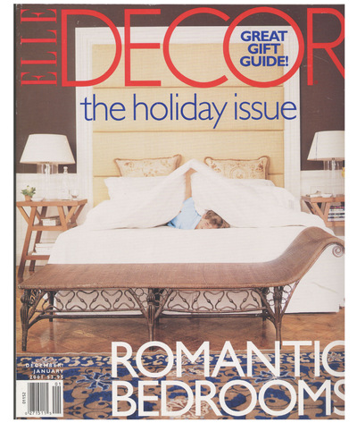 Tori Golub Interior Design - Elle Decor January 2001