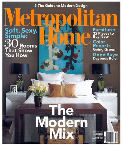 Tori Golub Interior Design - Metropolitan Home October 2005
