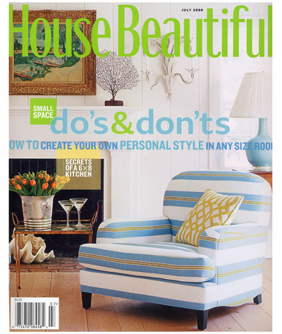 Tori Golub Interior Design - House Beautiful July 2008
