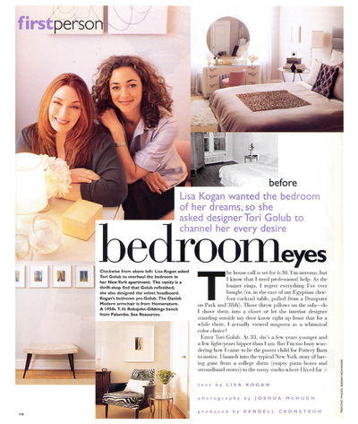 Tori Golub Interior Design - Elle Decor 1997