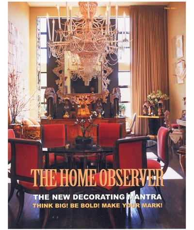 Tori Golub Interior Design - Fall Observer Fall 2003