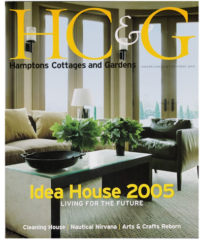 Tori Golub Interior Design - HC&G September 2005