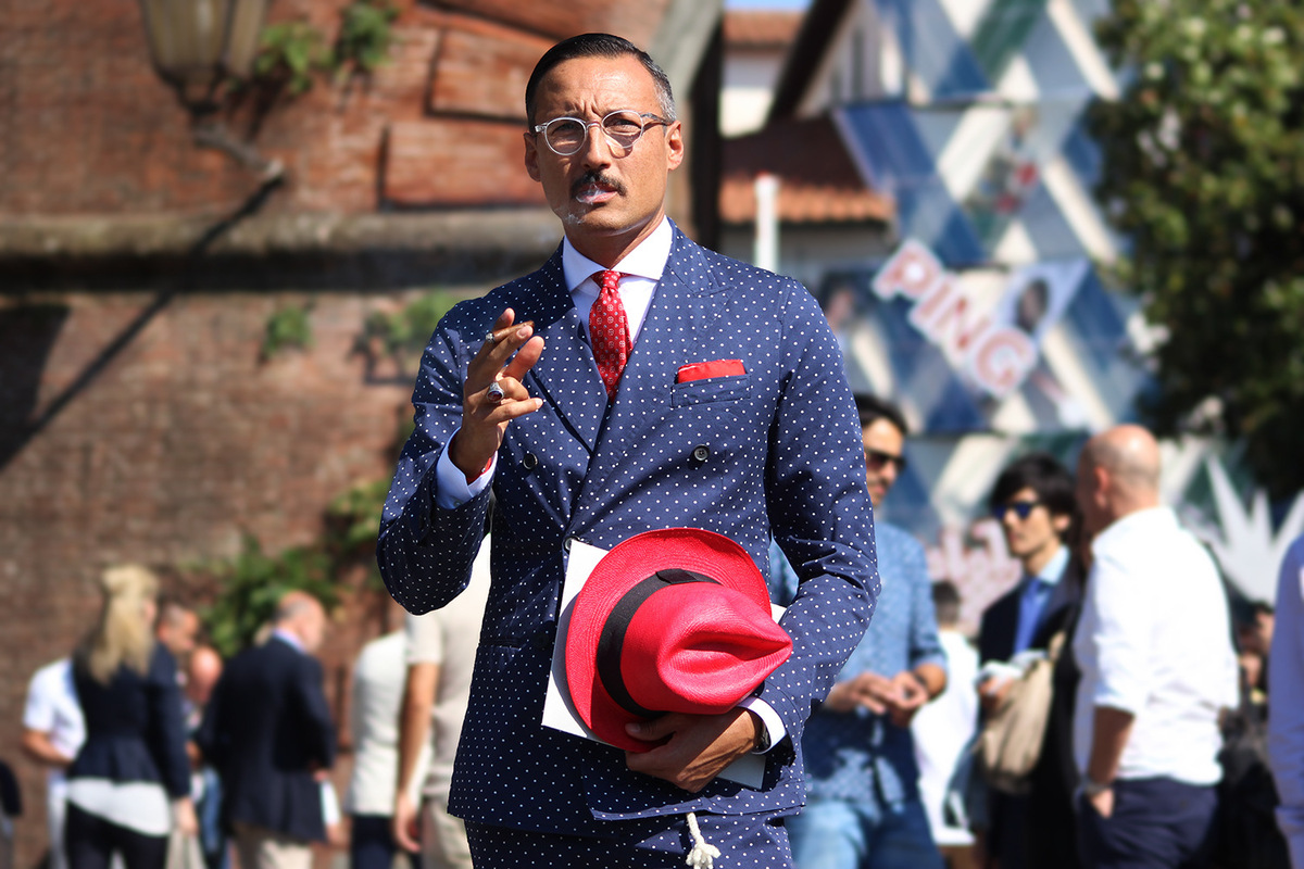 Marc Richardson - Pitti Uomo 86. June 2014