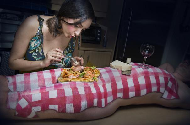RADU JUSTER VISUAL ARTIST - A craving for pasta