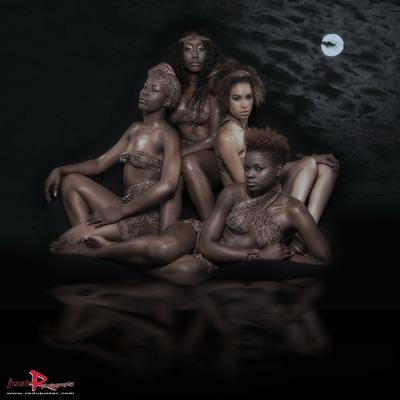 RADU JUSTER VISUAL ARTIST - Four beauties