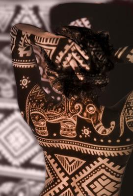 RADU JUSTER VISUAL ARTIST - Indian pattern