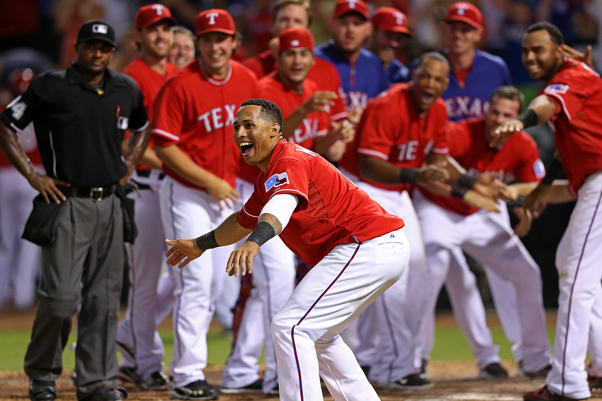 Kelly Gavin Photography - A Texas Rangers walk-off home run