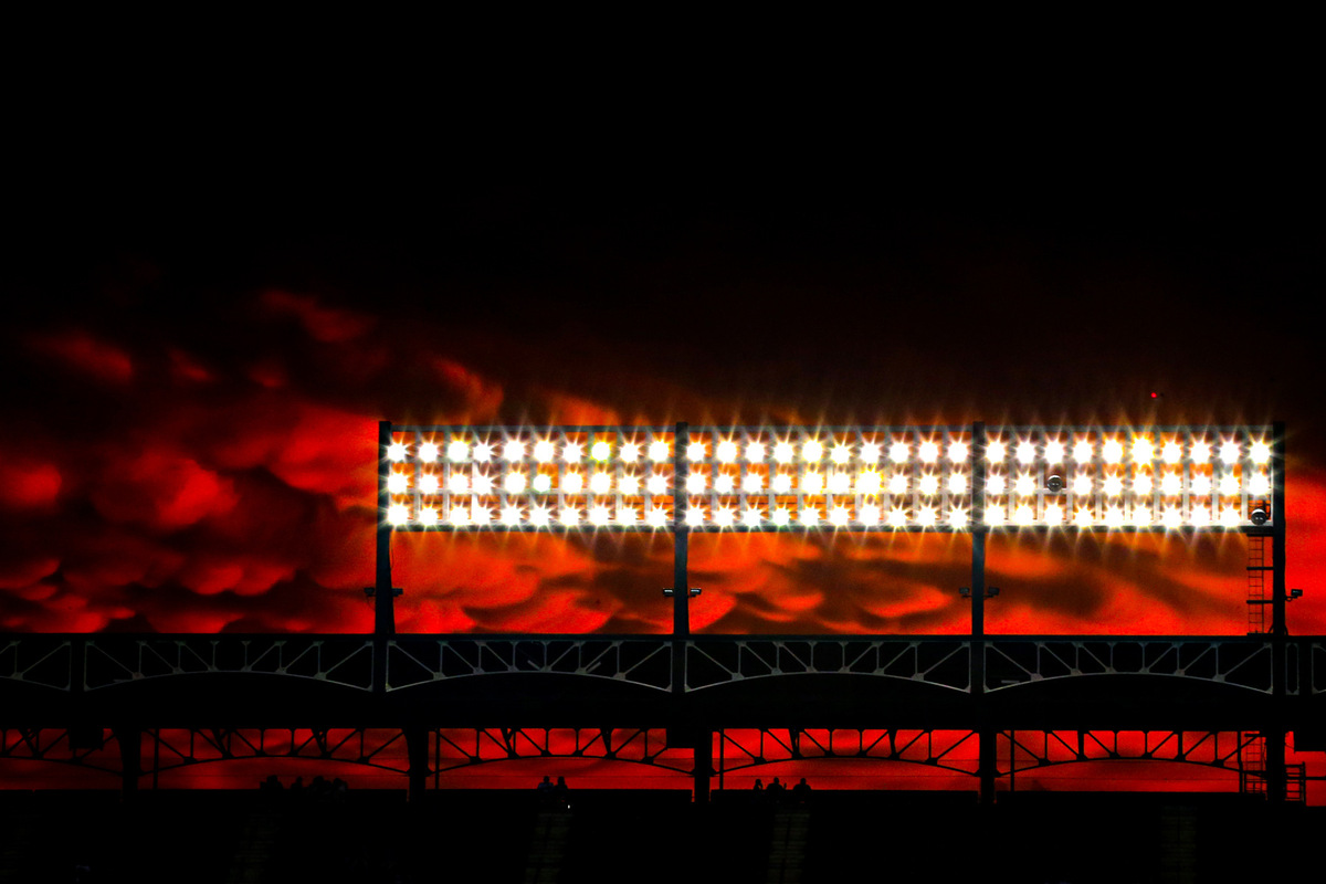 Kelly Gavin Photography - Clouds over Globe Life Park
