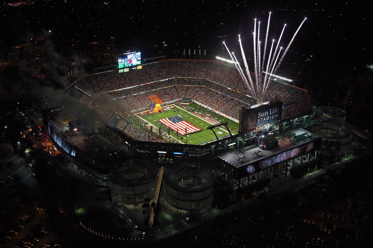 Kelly Gavin Photography - Sun Life Stadium