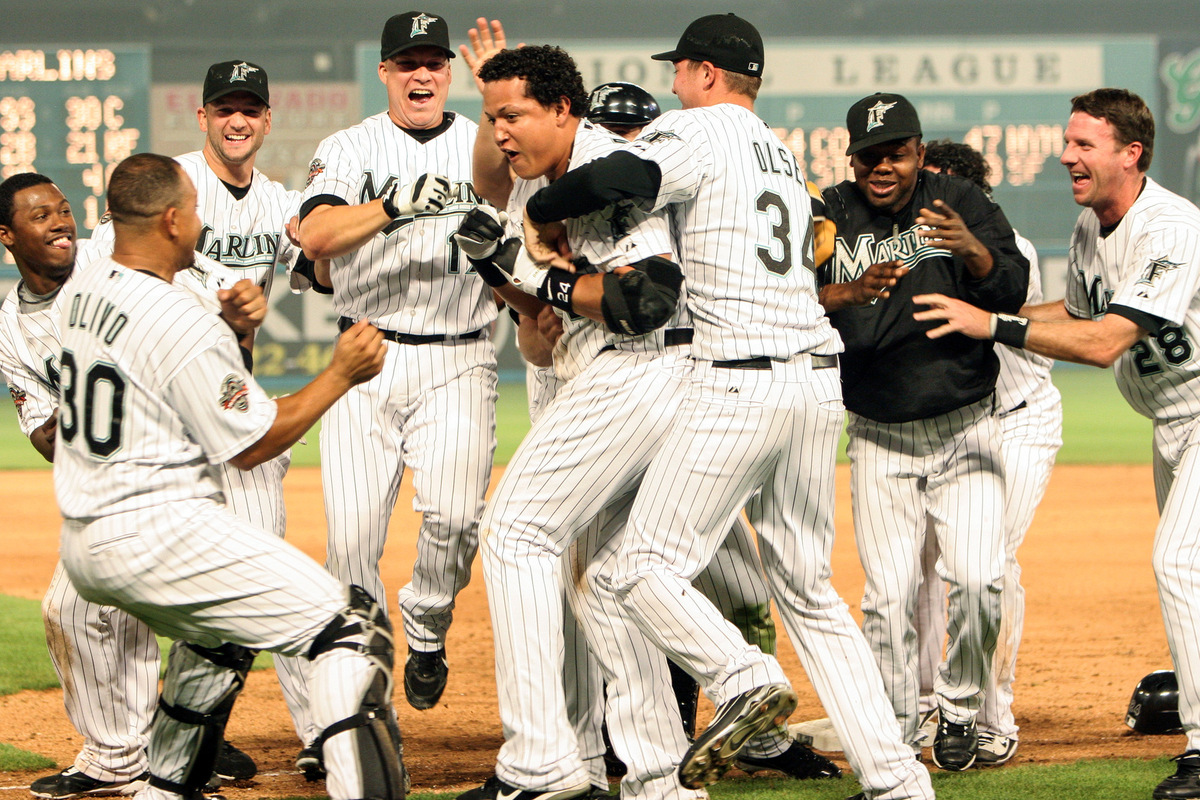 Kelly Gavin Photography - A walk-off hit for the Florida Marlins