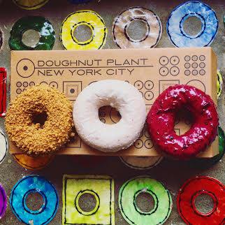Barrie Schneiderman - Coffee Cake, Tres Leches, & Wild Blueberry Doughnuts. Doughnut Plant, 379 Grand St, New York, NY