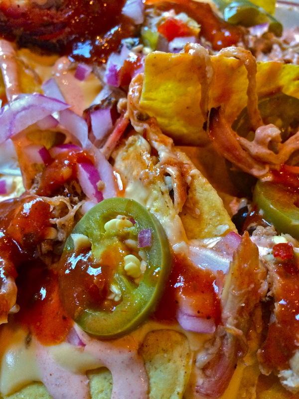 Barrie Schneiderman - Pulled Pork Nachos, Dinosaur BBQ, Stamford, CT