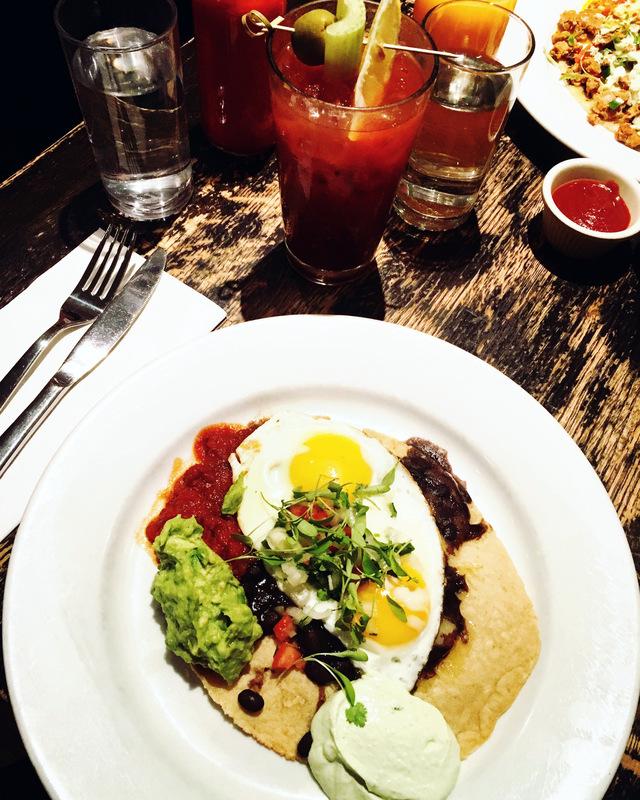 Barrie Schneiderman - Huevos Rancheros; Community Food & Juice, New York, NY