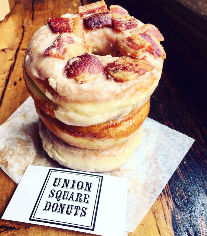 Barrie Schneiderman - Maple Bacon Donut, Union Square Donuts, Somerville, MA