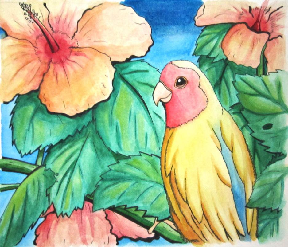 An Assortment of Daydreams - Watercolor Tropics