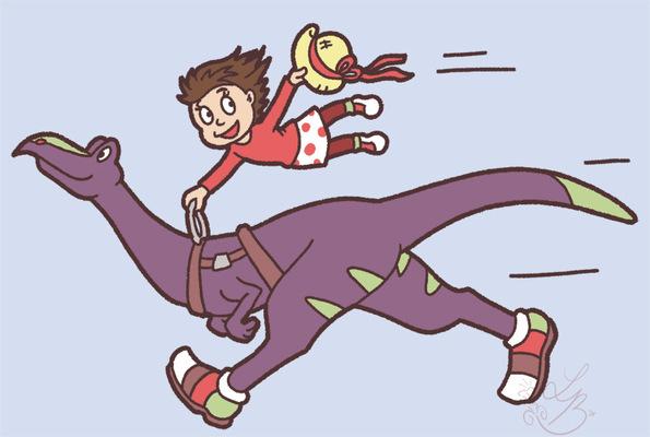 An Assortment of Daydreams - Speedy Dino