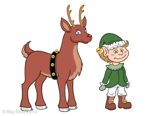 An Assortment of Daydreams - Elf & Deer