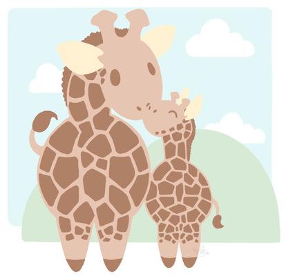 An Assortment of Daydreams - Giraffe Baby Design