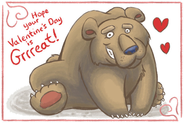 An Assortment of Daydreams - Valentines Bear