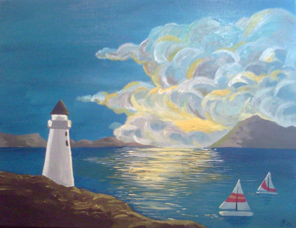 An Assortment of Daydreams - Dawn Lighthouse