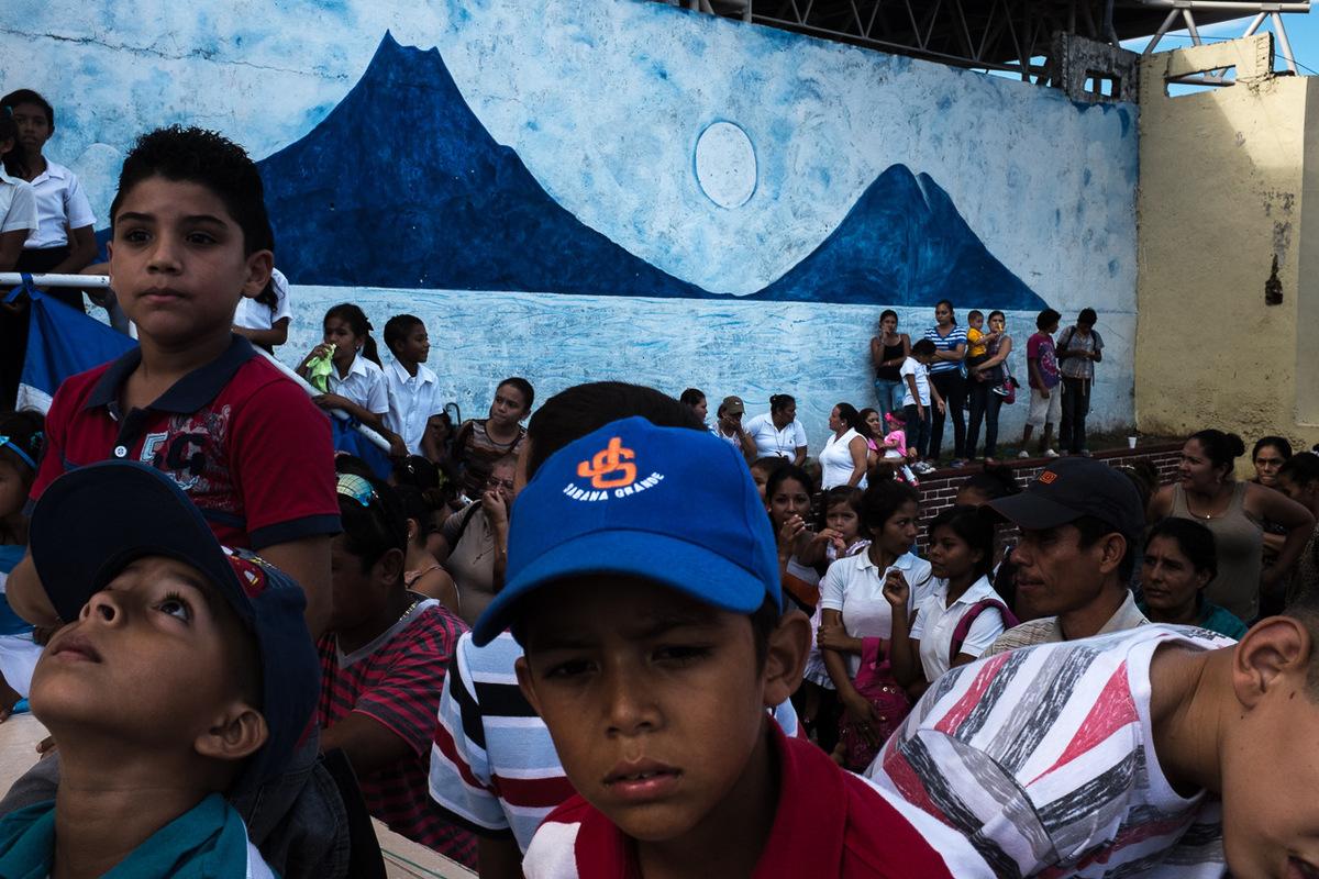 Adrienne Surprenant - Au Nicaragua, tout est politique; léducation, les événements sportifs ou culturels sont partidistes.