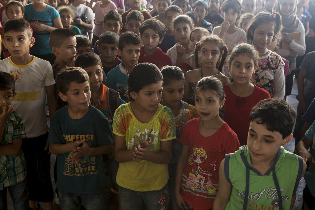 Adrienne Surprenant - L'école Tuyoor el-Amal («Les oiseaux de l'espoir») est ouverte depuis 4 ans. Le nombre de réfugiés syriens qu'elle scolarise est passé de 350 au début, à 2000 cette année.
