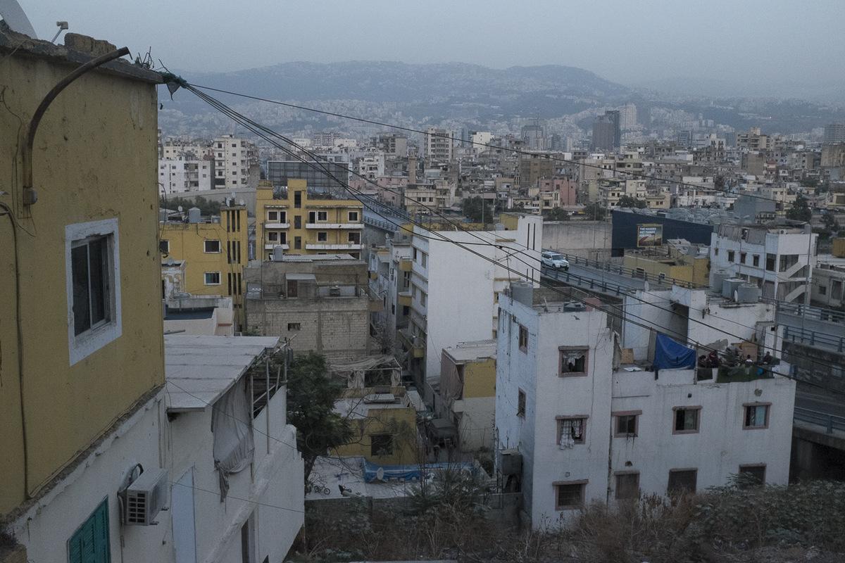 Adrienne Surprenant - Vue sur Beyrouth.